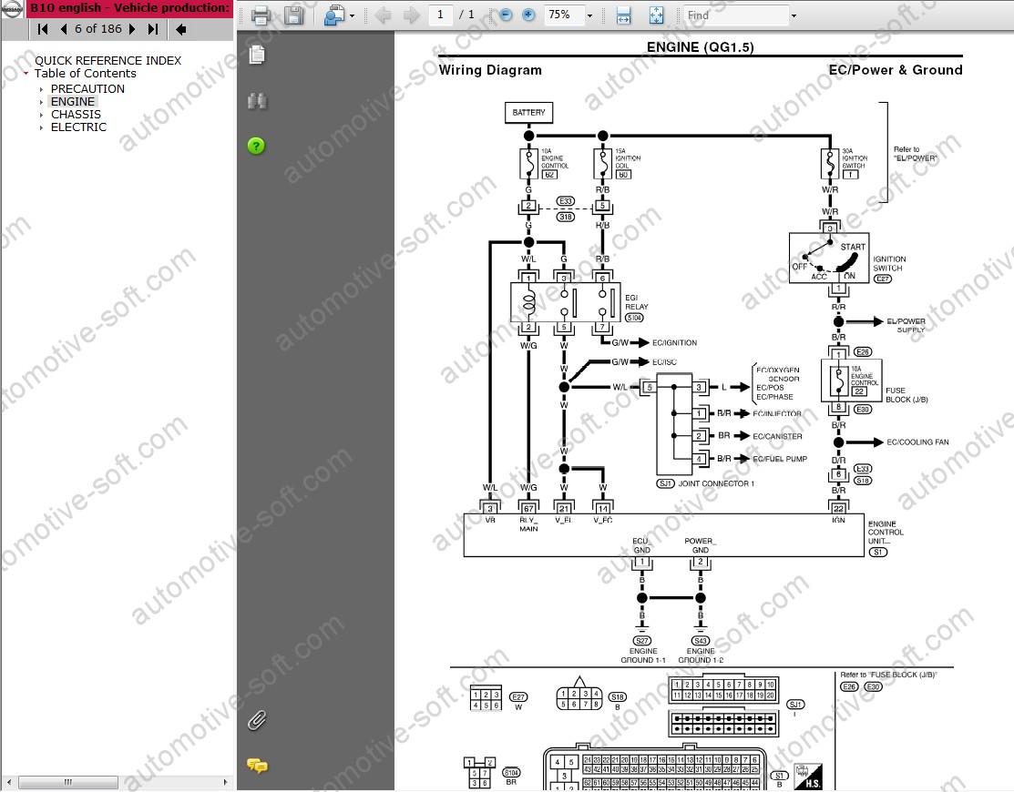 Nissan Micra K11 Stereo Wiring Diagram